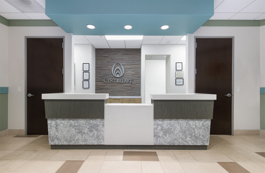 El Monte Medical Plaza – Arcel Design - Centrelake Imaging and Oncology - Formica® Brand Laminates