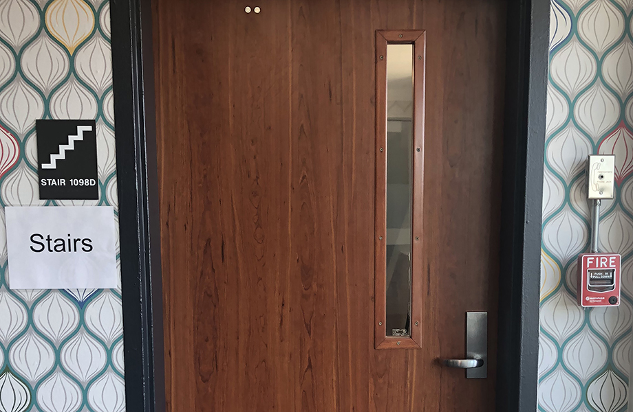 Russell Hall Door