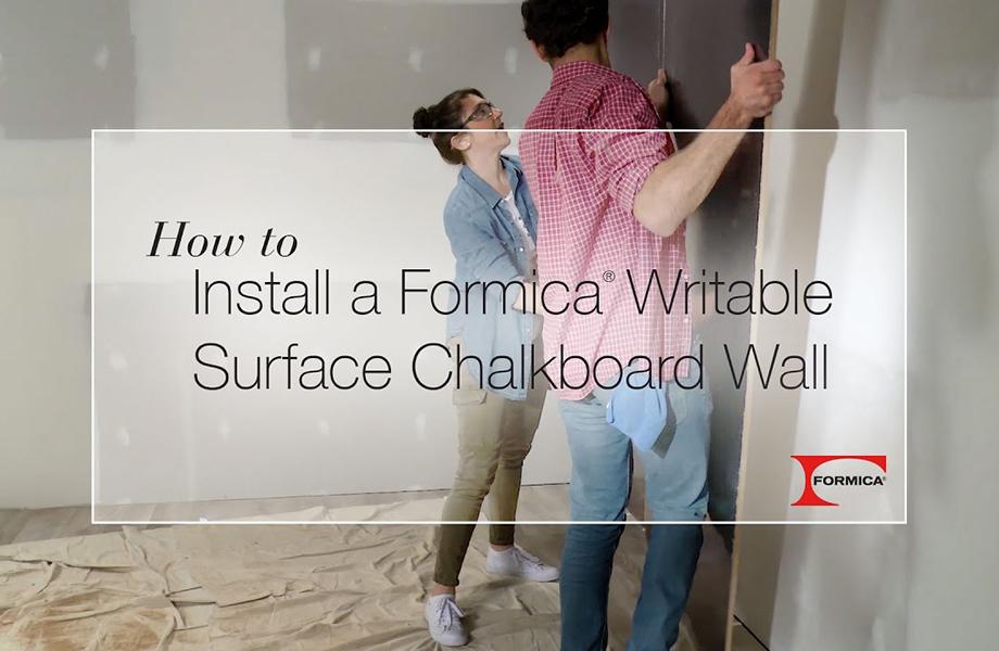 DIY Chalkable wall thumbnail
