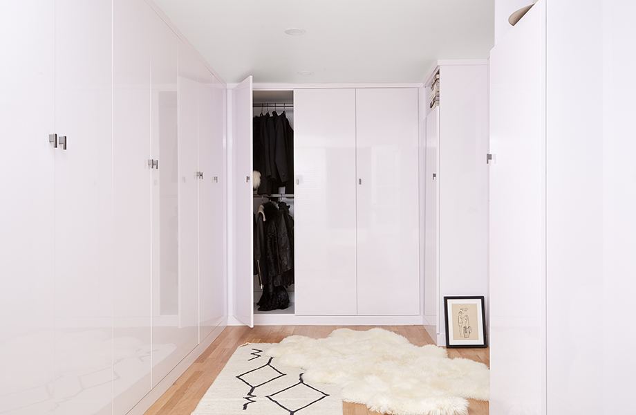 Leanne Ford White Laminate Closet