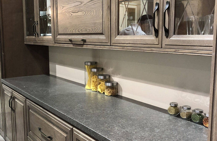 Gray Transitioning to Warm Neutrals: As seen at Homega at KBIS 2019