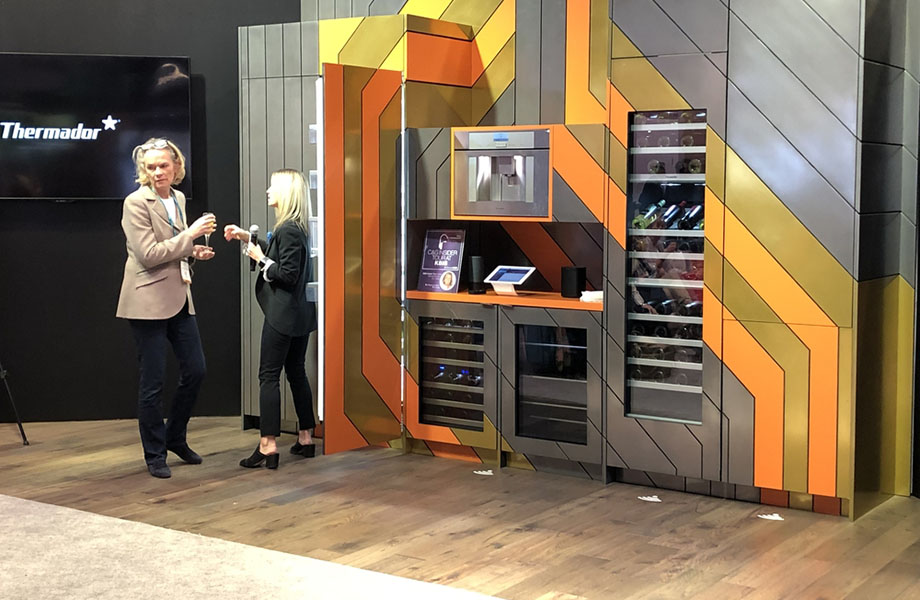 A connected kitchen at Thermador, KBIS 2019