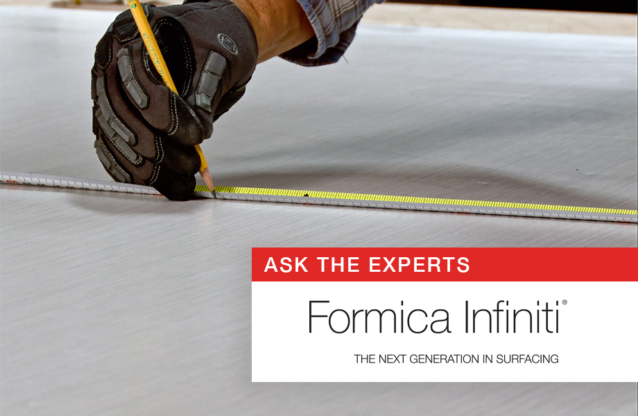 Ask the experts Formica Infiniti