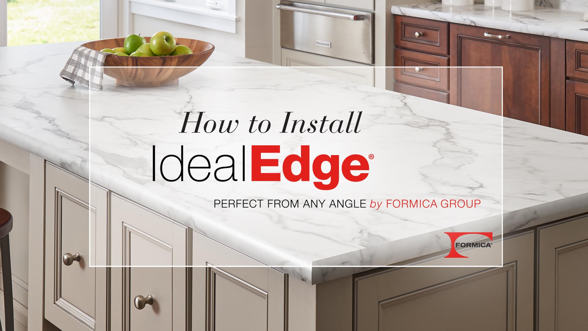 How to Install IdealEdge® Decorative Edging by Formica Group