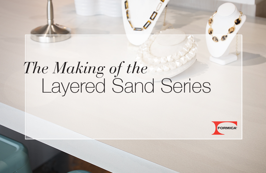 The Making of the Layered Sand Series