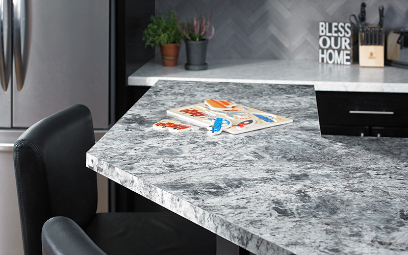 Kitchen countertops 9305 Silver Flower Granite 180fx