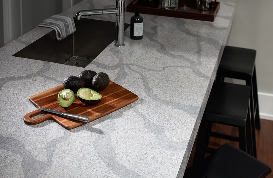 Avocados on kitchen countertop 9535 Quartz Composite 180fx