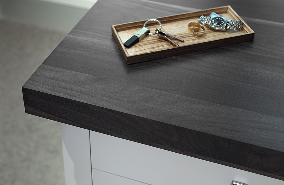 Countertop with jewlery 7411 Smoky Planked Walnut 180fx