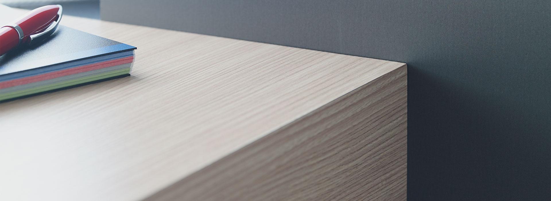 Formica® TFL Program Tabletop 8844 Aged Ash