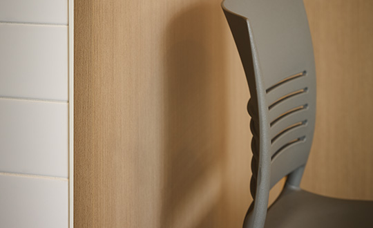 Restaurant dining room and chair 5883 Pecan Woodline