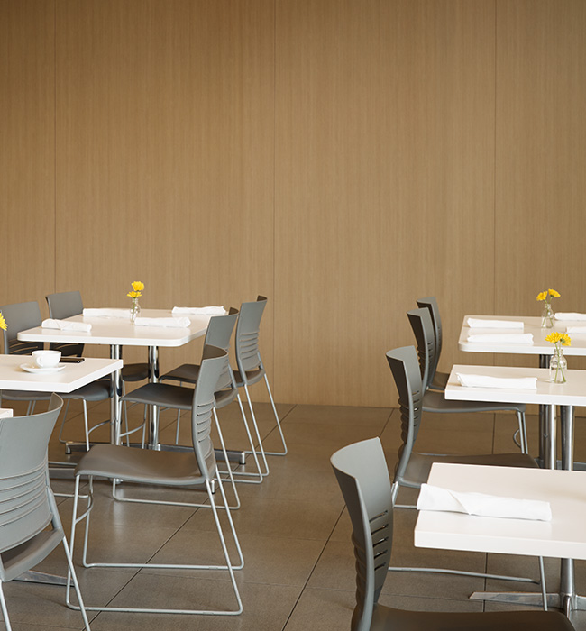 Restaurant dining room wall 5883 Pecan Woodline