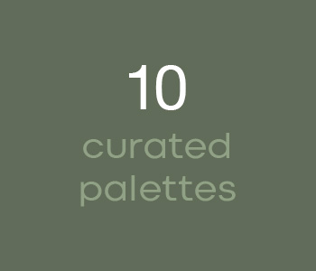 10 Curated Palettes