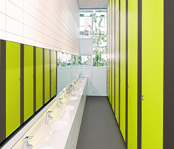Washroom optimised