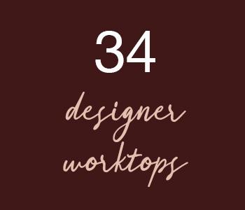34 Designer Worktops