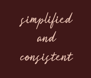 Simplified Consistent