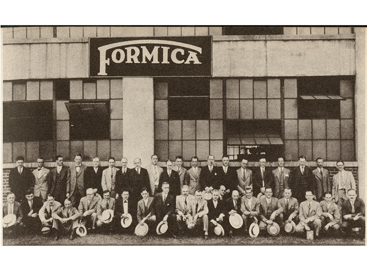 1927 Formica Group sales meeting
