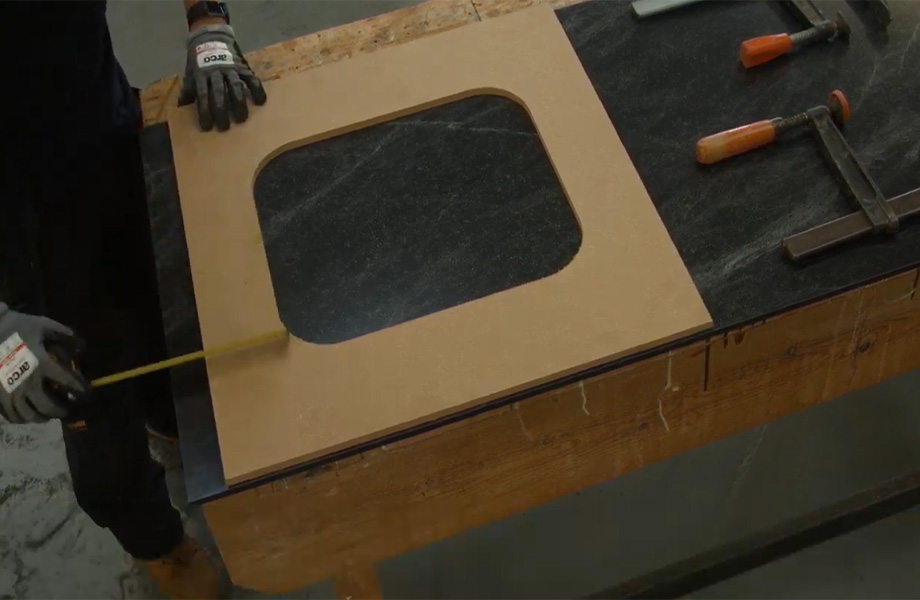 Fitting an Inset Sink