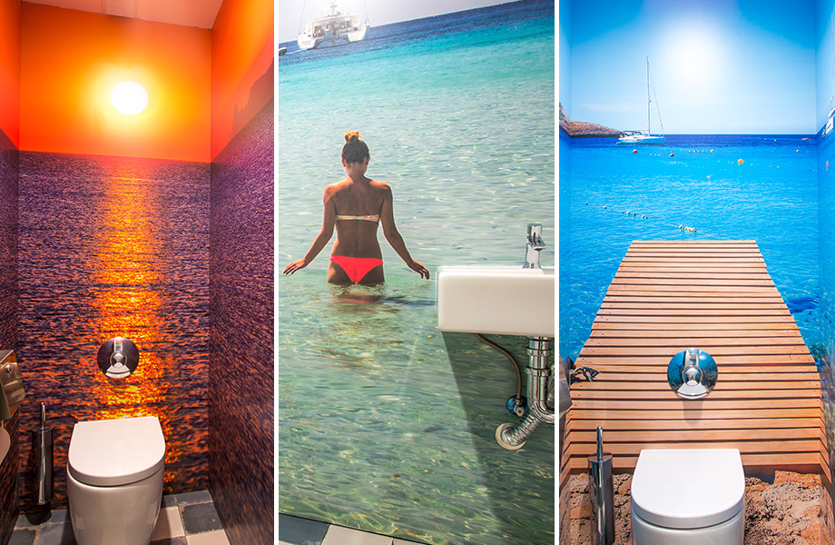 Pacha Ibiza Toilets by Formica Group