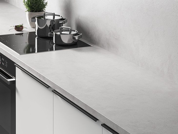 Prima Worktop Run White Portland V1 01 Post CR 730x550