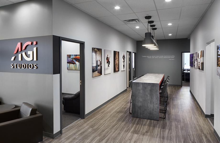 AGI Studios Hallway