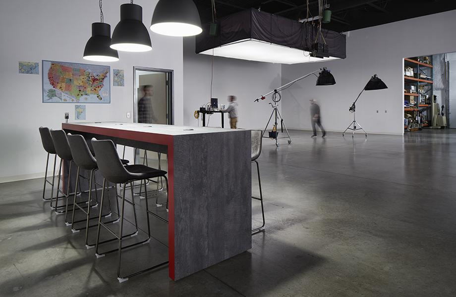 AGI Studio table