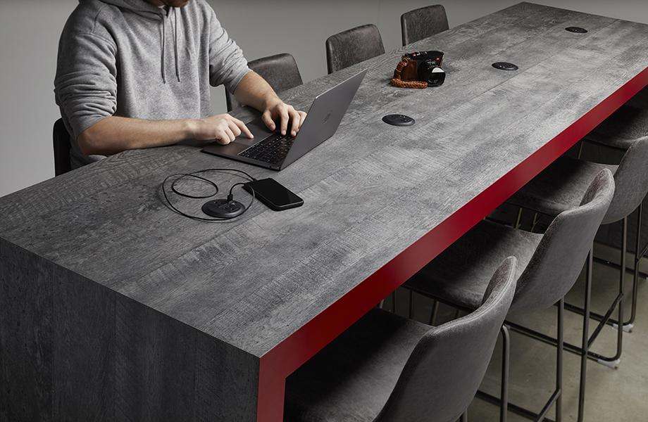 AGI Studios Close Up of Table