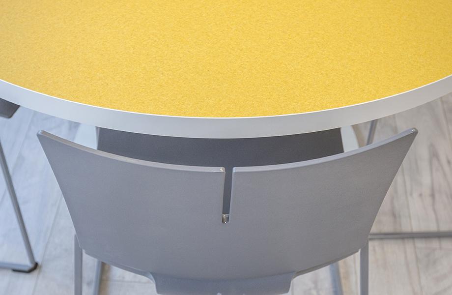 Ronald McDonald House Cincinnati table and chair detail