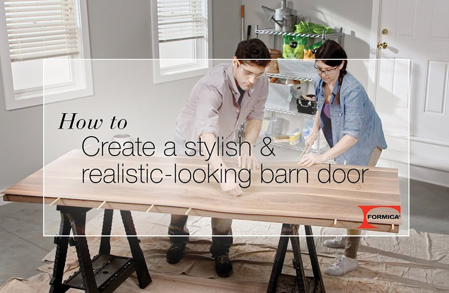 DIY Barn door thumbnail