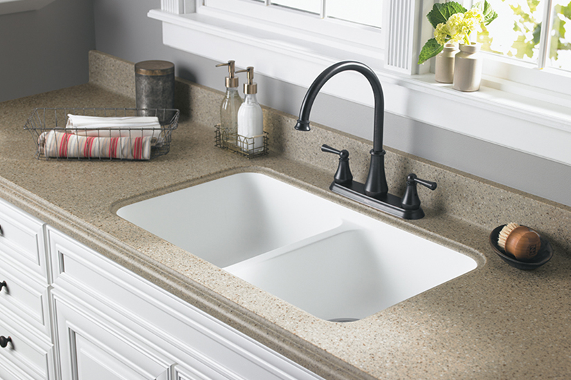 Proper Sink installation for Formica® Laminates