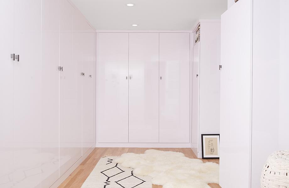 Leanne Ford White Laminate Closet