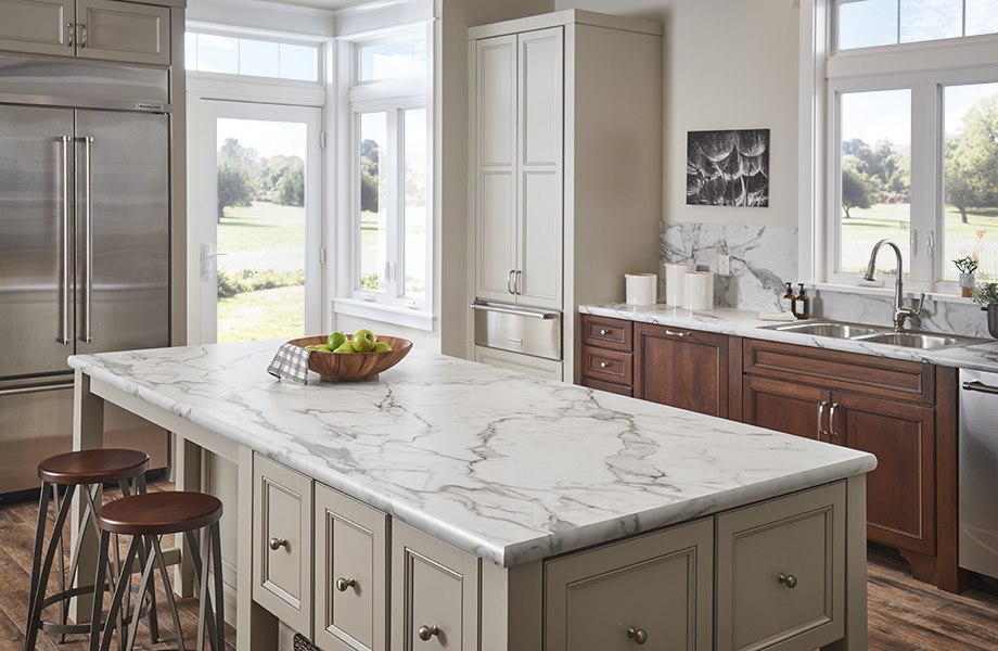 What S New Now In White Marble Laminate Countertop Looks Formica
