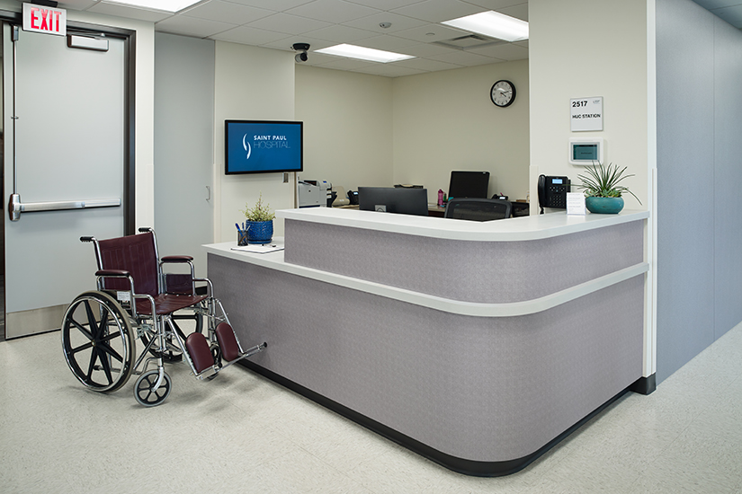 Healthcare desk