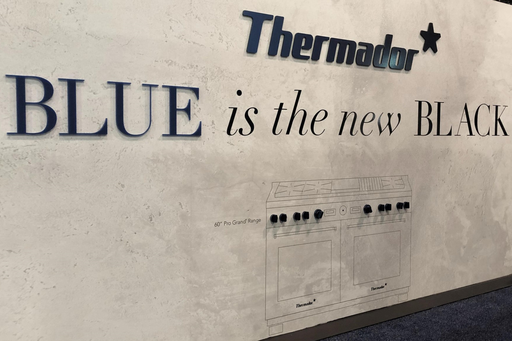 thermador blue is the new black