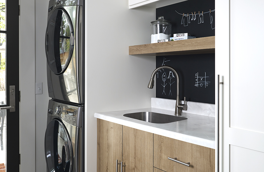 Ice Onyx laundry room counter