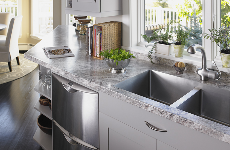 Classic Crystal Granite kitchen counter