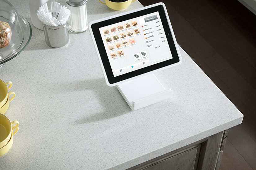 iPad restaurant selections 733 Mirage Formica Solid Surfacing