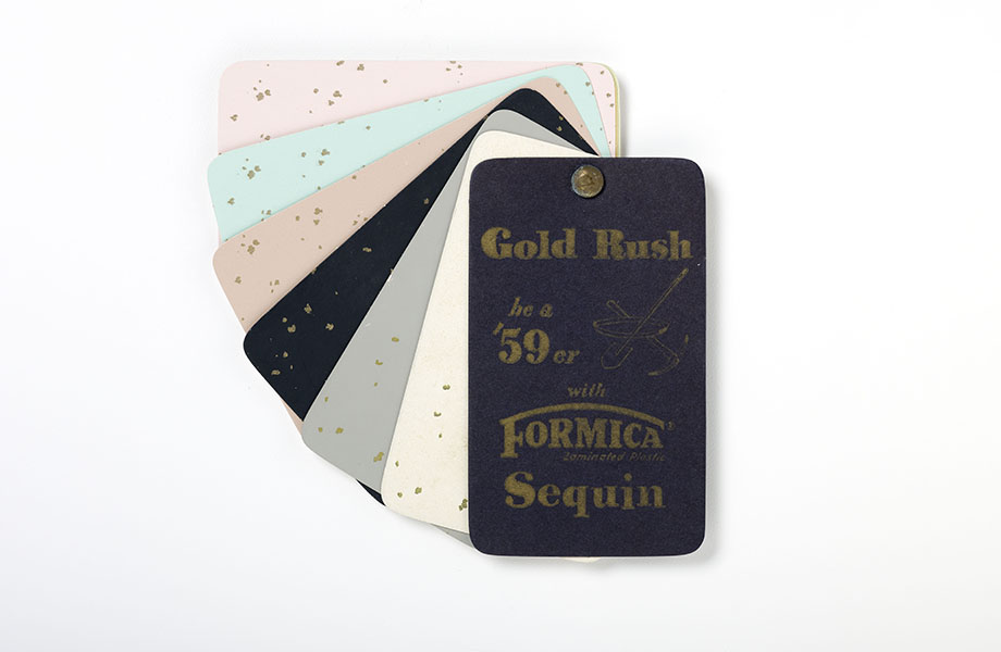 Formica laminate Sequin pattern in multiple colors