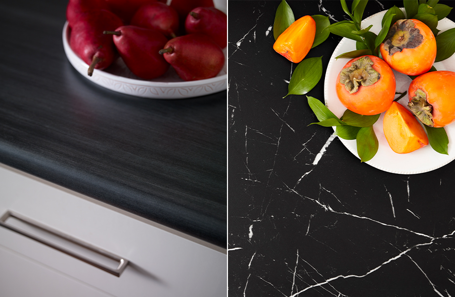 Formica laminate surfaces showing the Matte texture