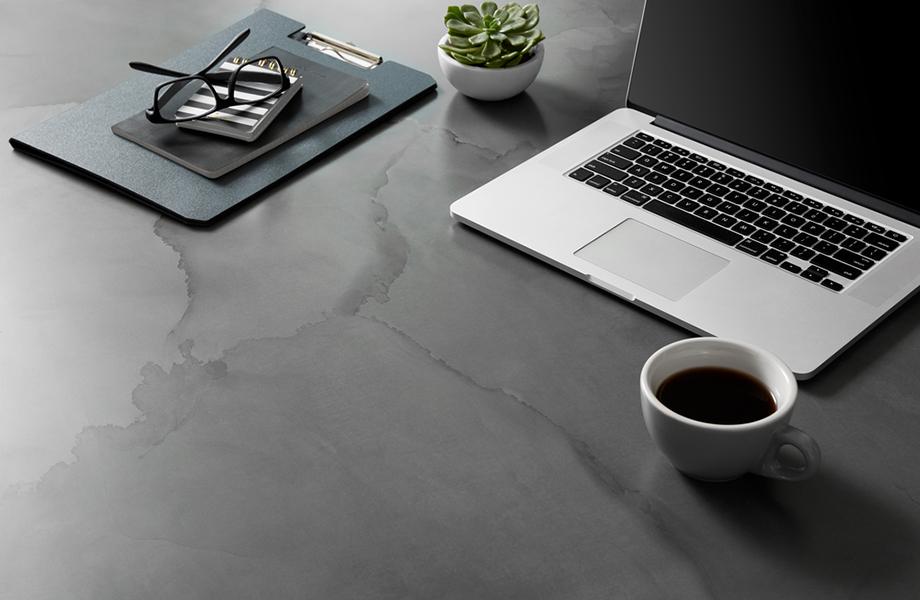 Watercolor Steel desk