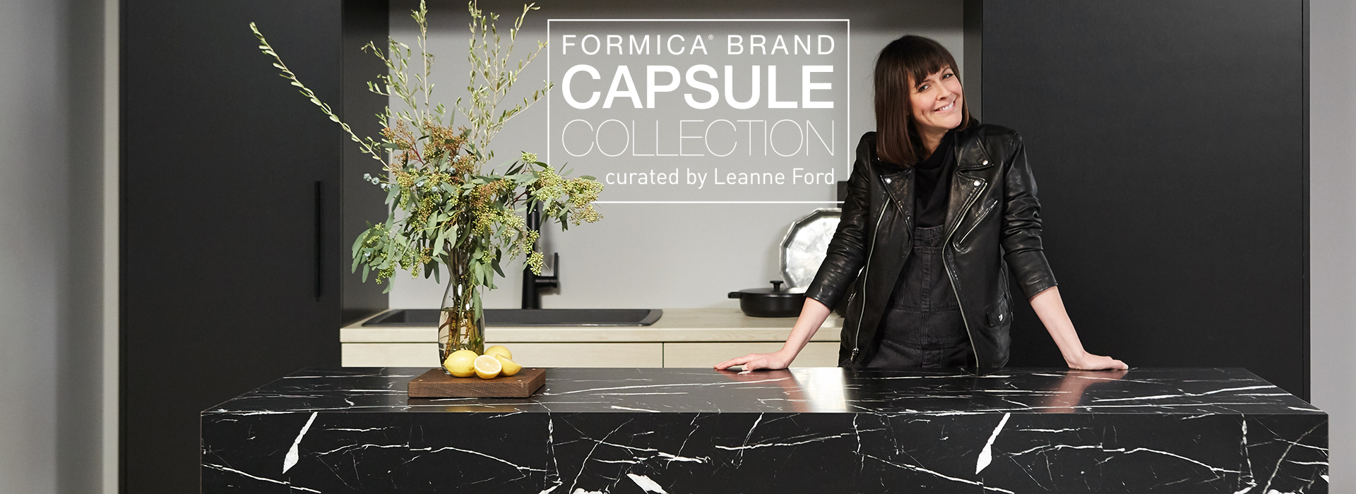 Formica Brand Capsule Collection Curated by Leanne Ford
