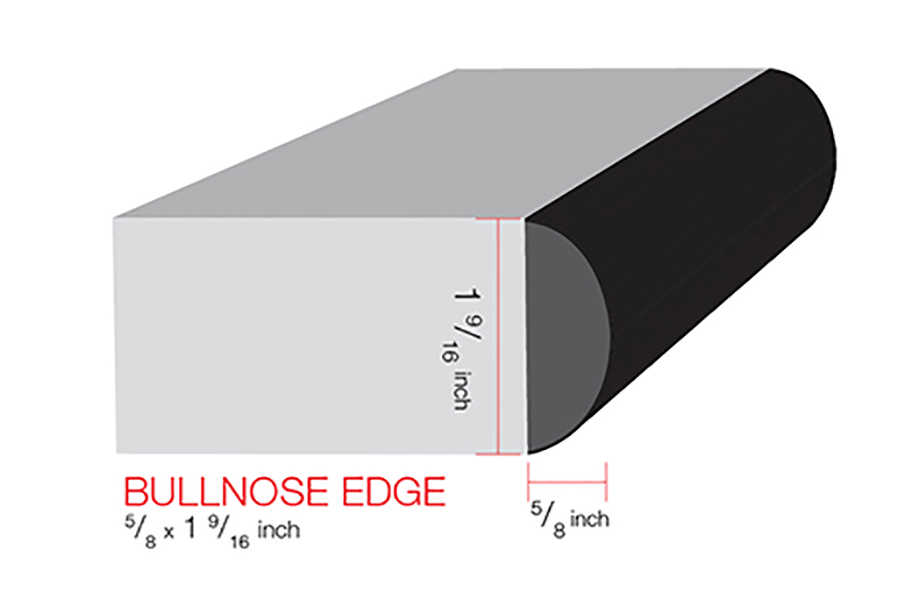 IdealEdge Bullnose Illustration