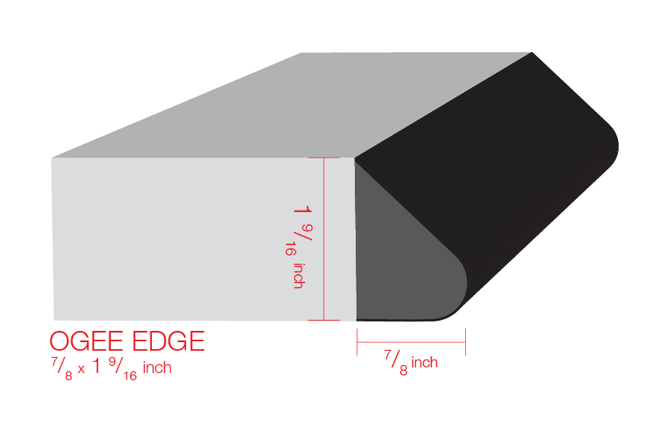 IdealEdge Ogee Illustration