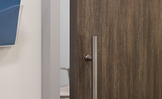 NG Walnut Fiberwood Formica Laminate Doors