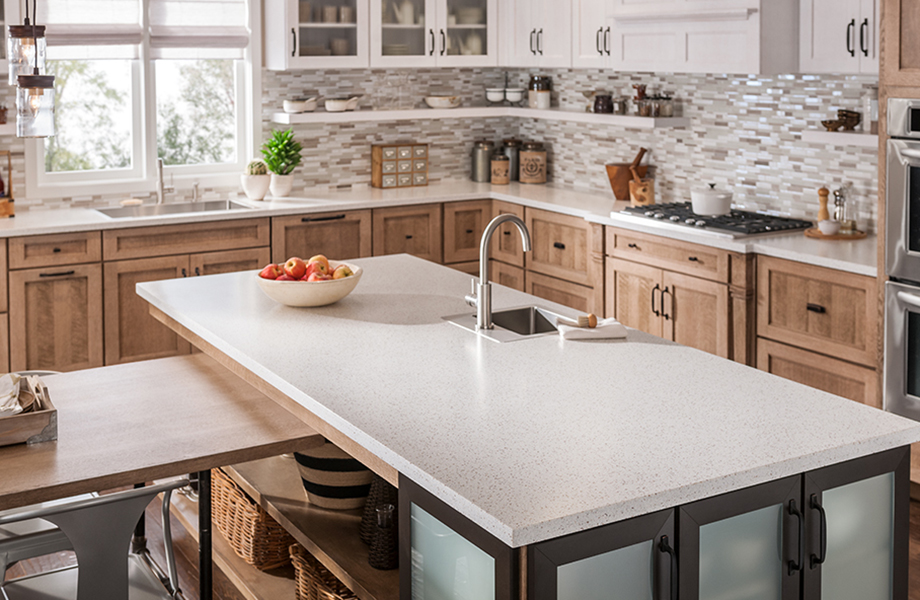 Refreshing Solid Surface Countertops