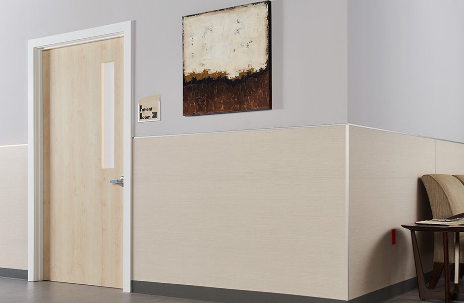 Hospital hallway 8826 Neutral Twill HardStop