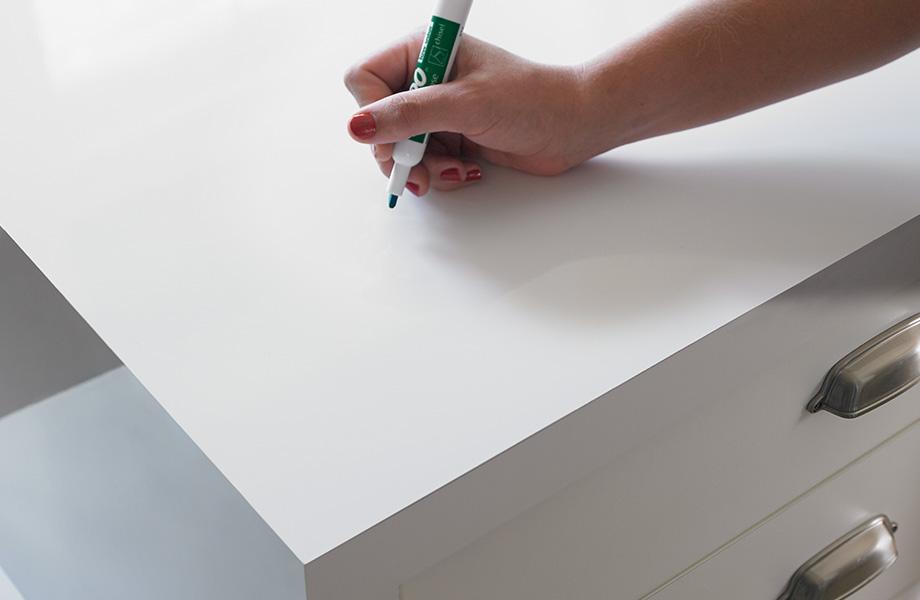 Dry erase countertop 949 White Writable Surfaces