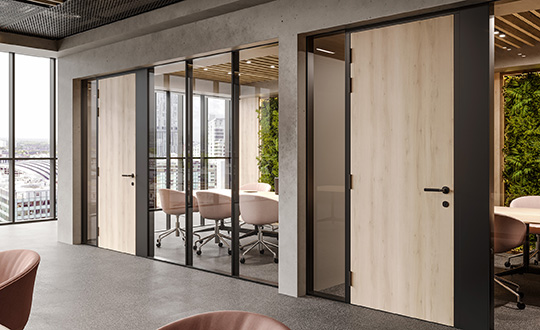 Formica Doors commercial interiors 540x330