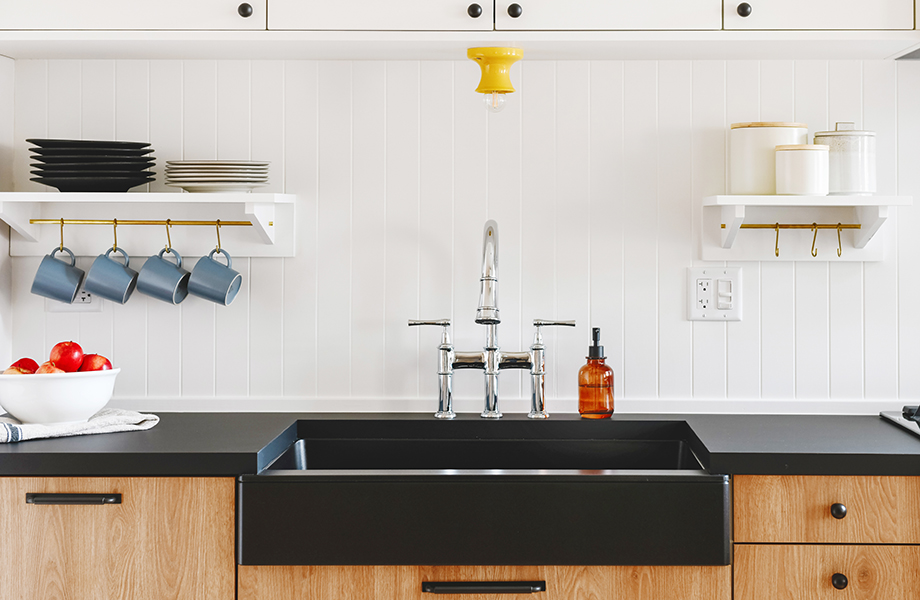 Yellow Brick Home FENIX sink