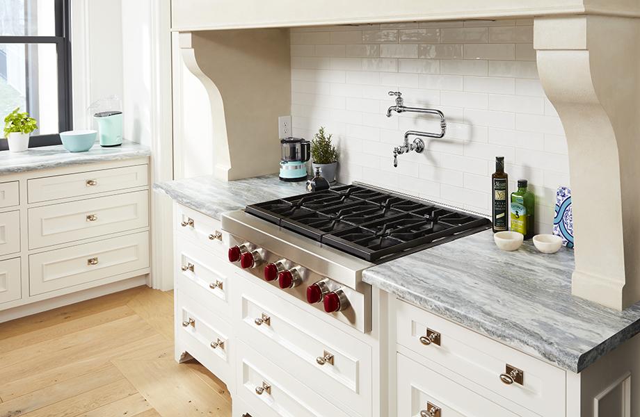 Cocina con cubiertas de 9302 34 Fantasy Marble