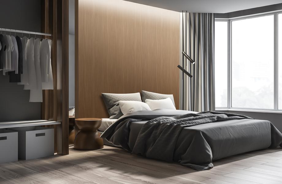 Muro habitación inspirados en maderas